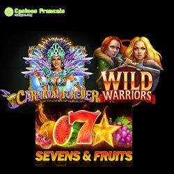Machines électroniques sur Magical Spin Casino